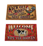 Farm Design Welcome Mat
