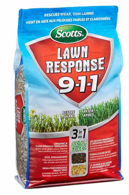Grass Seed - Lawn Response 911