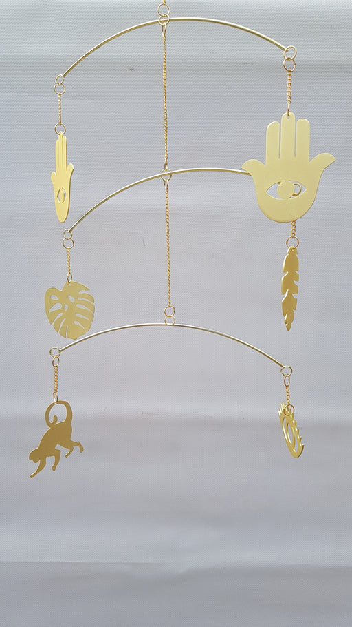 Gold Windchime