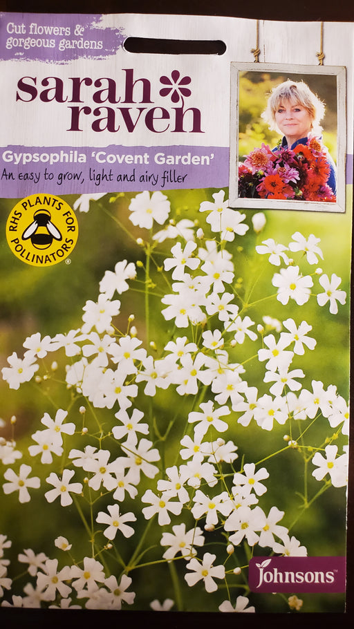 Gypsophila 'Covent Garden' - Seed Packet - Sarah Raven
