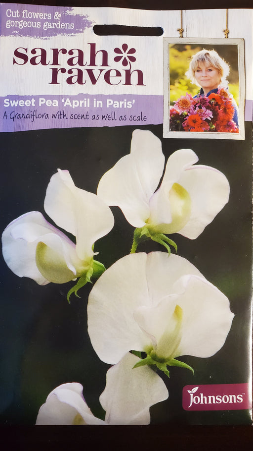 Sweet Pea 'April in Paris' - Seed Packet - Sarah Raven