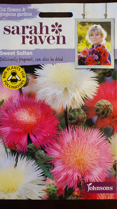 Sweet Sultan - Seed Packet - Sarah Raven
