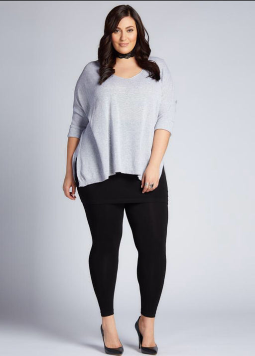 Leggings - Bamboo Plus Size Legging with Skirt