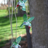 Solar Mobile - Painted Glass Windchime