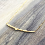 JJ+RR - Branch Necklace