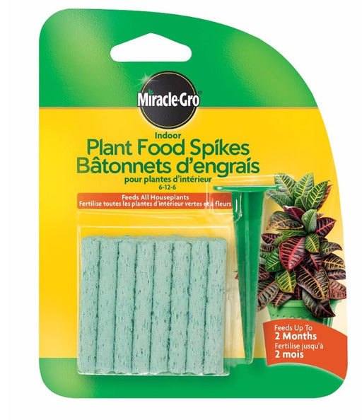 Miracle Gro -Houseplant Food Spikes  - 6-12-6