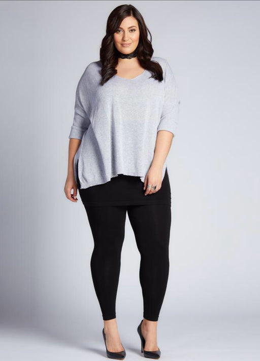 Leggings  - Bamboo Plus Size Full Length Leg