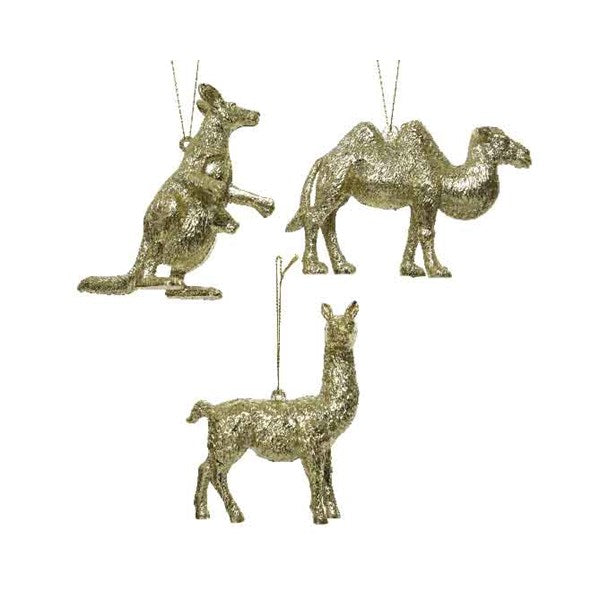 Ornament - Animals - Gold