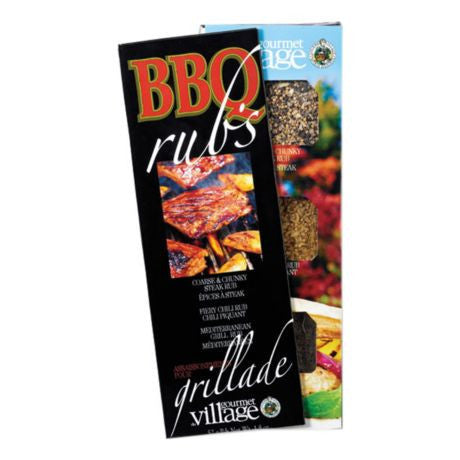 Gourmet Du Village - Seasoning - BBQ Rub's Trio