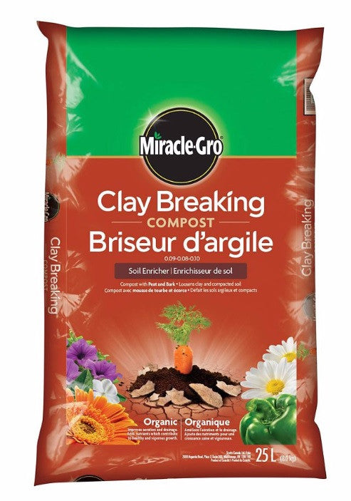 Miracle Gro - Compost - Clay Breaking