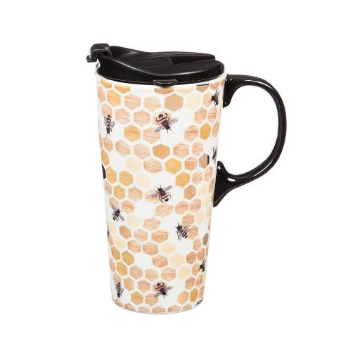 Happy to Bee Home Travel Cup
