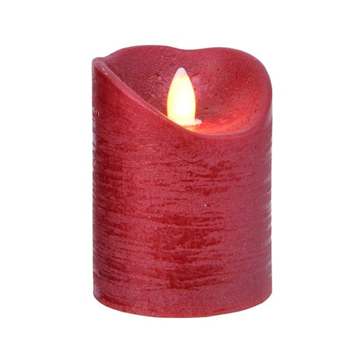LED Wax Dancing Candle-red