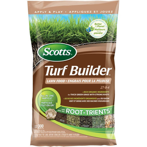 Turf Builder Lawn Food With Root-Trients 27-0-4