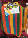 Rainbow Scrubby Sponge Long