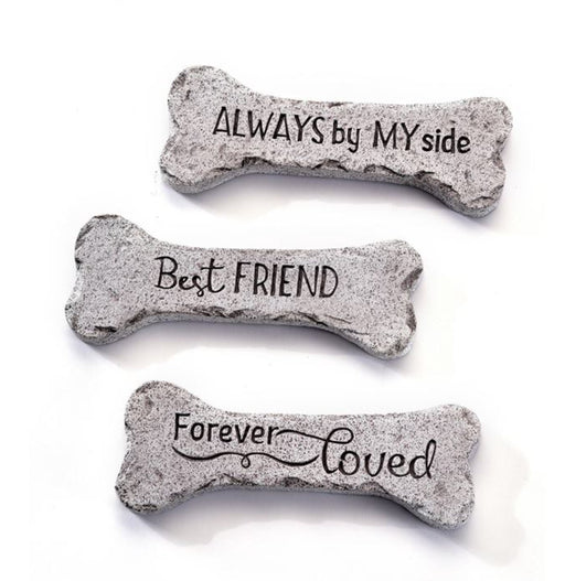 Bone Design Pet Memorial Stepping Stones