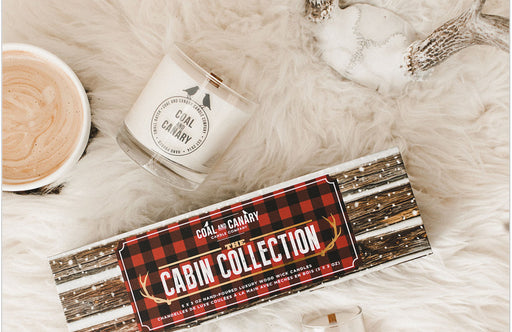 Coal and Canary - Candle Cabin Collection Set