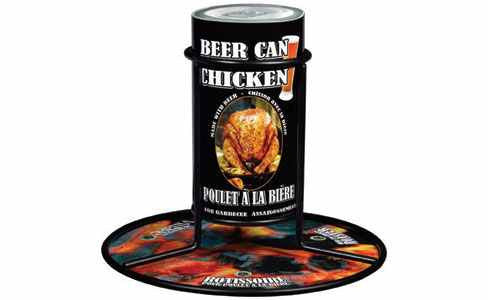 Gourmet Du Village - Beer Can Chicken - Roaster And Seasonings