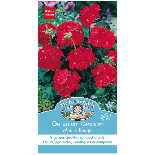 Geranium Seed - Seed Packets
