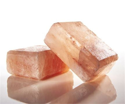 Earth Luxe Himalayan Crystal Salt Scrub Bar