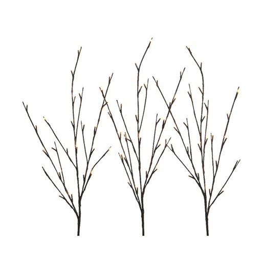 Led Light up Branches set of 3