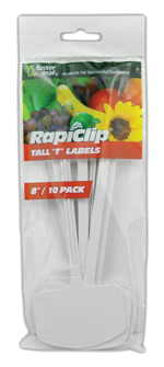Label - Rapiclip - Tall 'T' - 8""