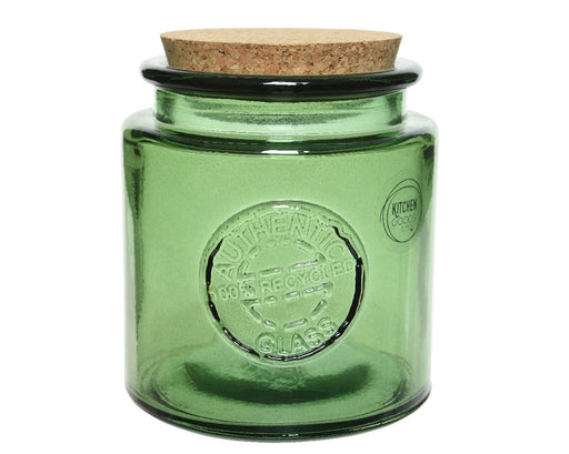 Jar Storage Green 3 Piece set