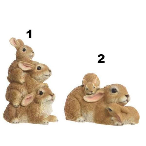 Figurine - Rabbit Family