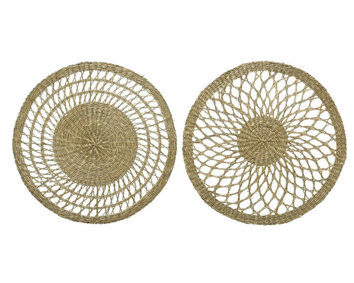 Place mat Sea Grass Round Natural