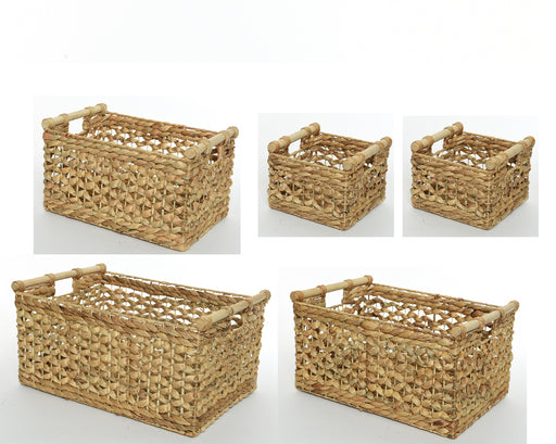Basket Rectangle with Handle