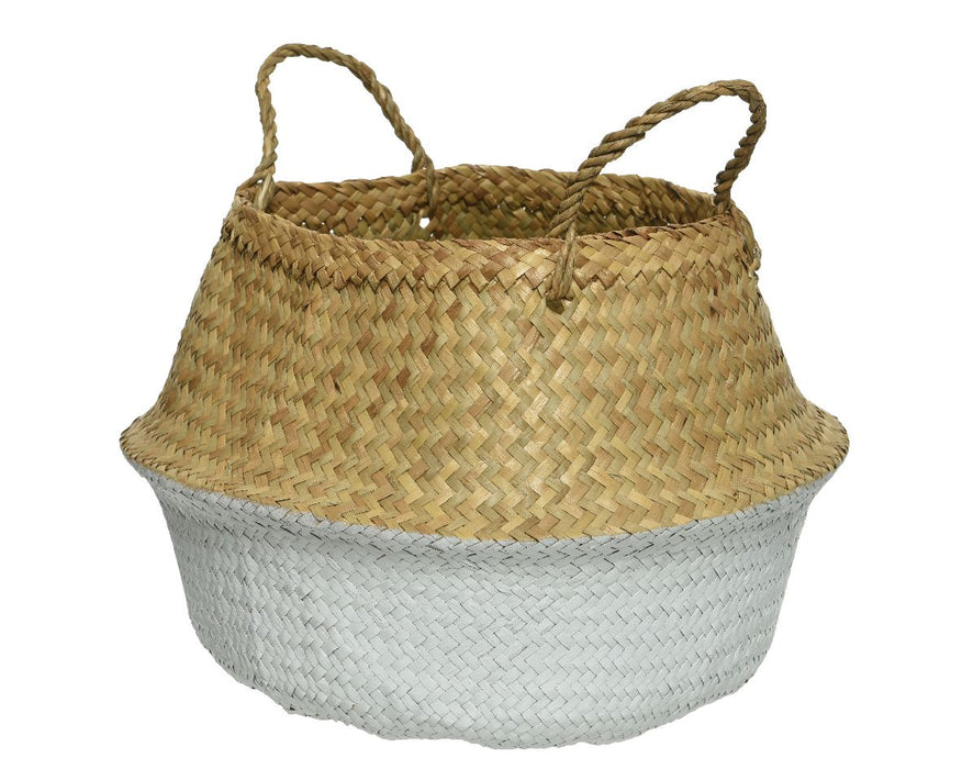 Basket Sea Grass With Handles