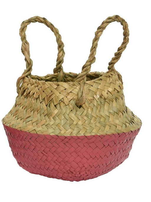 Basket Sea Grass Planter