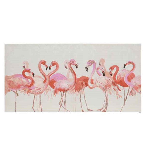 Canvas - Painting Flamingo