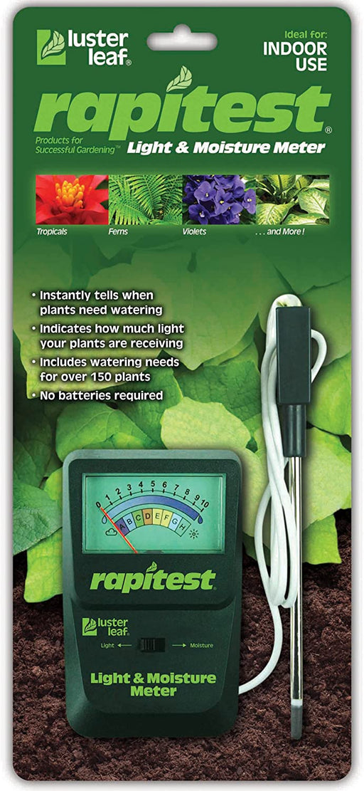 Light and Moisture Meter
