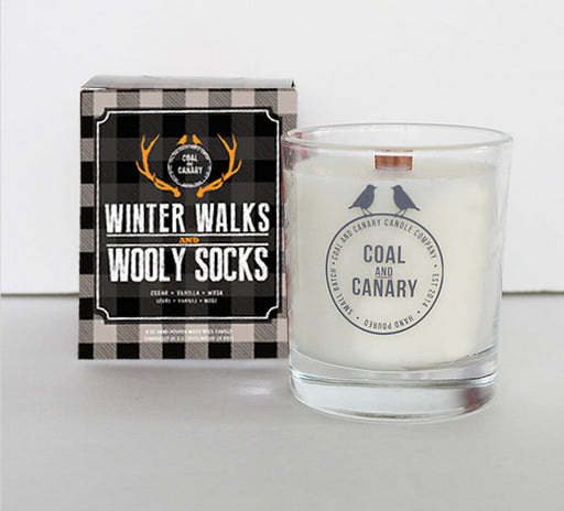 Coal and Canary - Candle Winter Walks and Wooly Socks