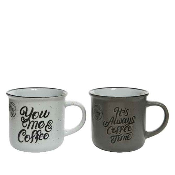 Mug - Stone Grey Sayings