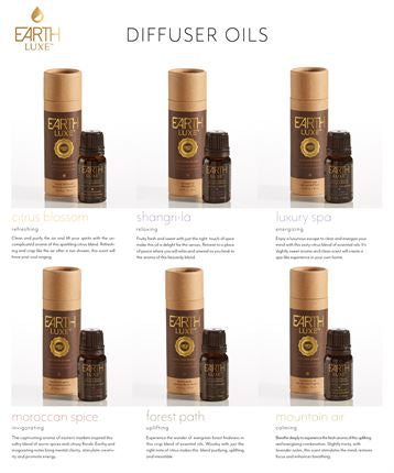 Earth Luxe Diffuser Oil Assorted Scents