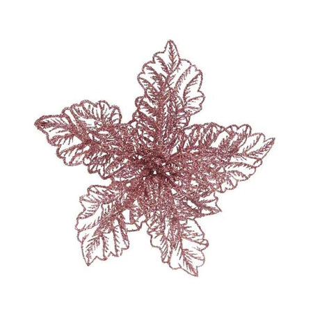Ornament - Poinsettia - Fur