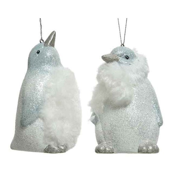 Ornament - Penguin - With Fur
