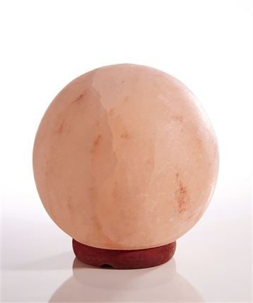 Earth Luxe Himalayan Crystal Salt Sphere Lamp