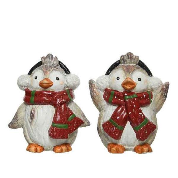 Decoration - Penguin - With Scarf
