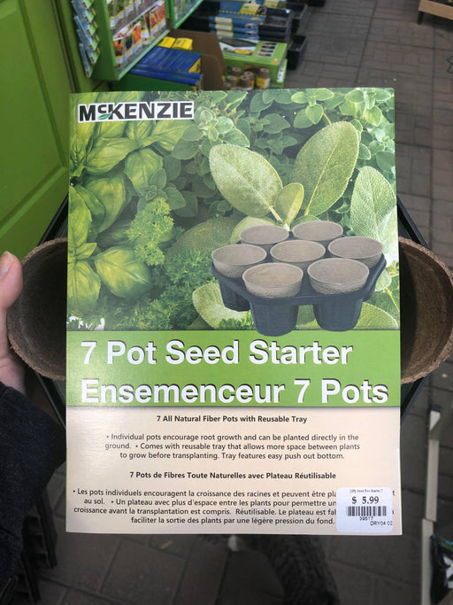 Jiffy 7 Pot Seed Starter