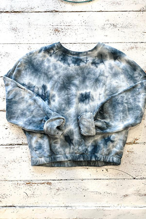 Sweatshirt - Dex Plus - Navy Tie Dye