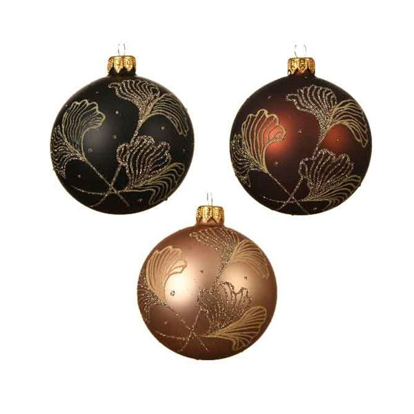Ornament - Ball - Ginkgo