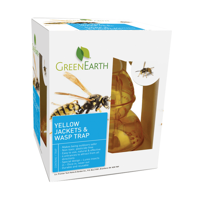 Green Earth - Wasp Trap - Wasps and Yellow Jackets