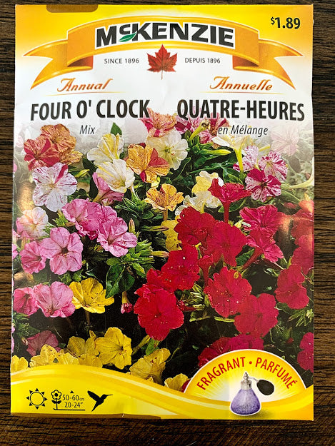 Four O'Clock Mix - Seed Packet
