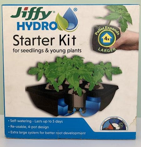 Jiffy Hydro - Starter Kit - Seedlings & Young Plants