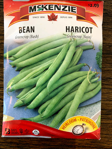 Bean Seeds - Seed Packets