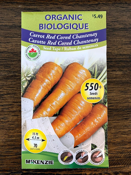 Carrot Seeds - Seed Packet