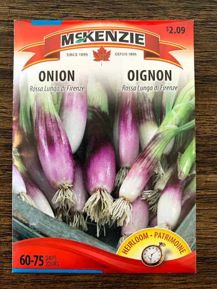 Onion Seed - Seed Packet