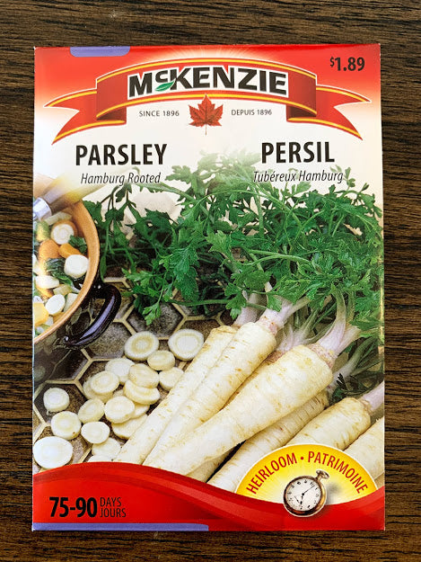 Parsley Seed - Seed Packet